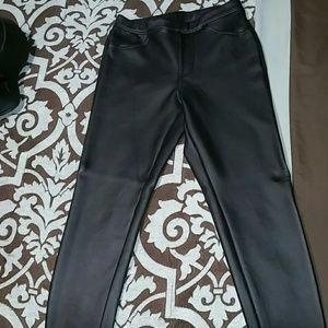 Xhileration tight leather like pants